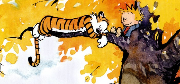Calvin and Hobbes - Lazy Days