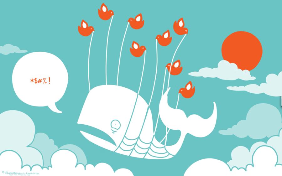 Twitter Fail Whale by ShannaBanan-o-rama
